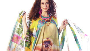 Ro London Golden Gibbon caftan