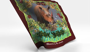 Ro London Rhinoceros Scarf