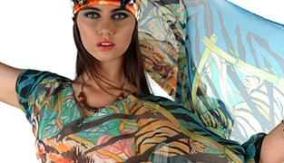 Ro London WildTiger Caftan