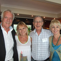 Ro London, John Rendall, Alan Colling with Joan Pearson, Sydney's No# 1 wildlife fund raiser!