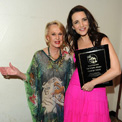 Tippi Hedren and Kristin Davis