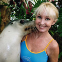 Ro London - Sea Lion smooch!